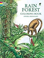Rain Forest Coloring Book (Dover Nature Coloring Book)