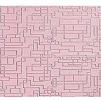 BBGS ウォールステッカー, 3Dソリッドウォールステッカー、リビングルームの壁のテレビの背景の壁の自己接着フォームウォールステッカー天井装飾壁紙ステッカー (Color : Pink, Size : PACK OF 10)