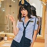 ハロウィンコスチューム ハロウィン コスプレ セクシー ポリス 6点セット M~4Lサイズあり 警察 警官 婦警 制服 コスチューム一式 こすぷれ costume723 衣装