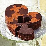 CLUB HARIE クラブハリエ ハートブラウニー チョコブラウニー たねや バレンタインチョコ チョコレート チョコ ショップバッグ付 (チョコブラウニー)