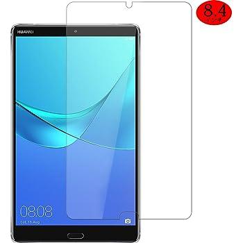 Huawei MediaPad M5 ガラスフィルム SHINEZONE MediaPad M5 8.4 9H硬度 0.3mm 2.5Dラウンドエッジ加工 高感度 高透過率 飛散防止 指紋防止 耐久 MediaPad M5 フィルム (Huawei MediaPad M5 8.4インチ)