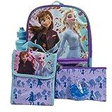 5 Pc. Disney Frozen Backpack Set for Girls, 16 inch w/ Frozen Lunch Bag & Pencil Case