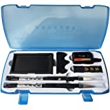Easyou Calligraphy Painting Sets for Japanese Chinese Calligraphy Practice Beginner (blue)