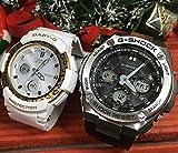 カシオCASIO 腕時計 G-SHOCK&BABY-G ペアウォッチ 純正ペアケース入り ジーショック&ベビージー 2本セット アナデジ GST-W110-1AJF BGA-2100LP-7AJF