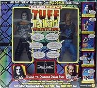 "WWE / WCW 1998 - Electronic Interactive - TUFF TALKIN WRESTLERS - 12"" STING vs. DIAMOND DALLAS PAGE by Toy Biz"