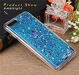 iPhone 7ケース、gprova Iphone 7[液体グリッター]ケースファッションクリエイティブデザイン流れる液体フローティングラグジュアリーケースカバーfor iPhone 7