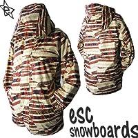 ∴スノーボード ウェア ジャケット/ メンズ レディース esc(イーエスシー) ESW2201 スノボ ボード ウエア ユニセックス/ 旧モデル スキー スノボ