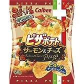 ピザポテトサーモン&チーズ 60g×12袋
