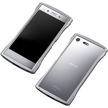 23f37476ad Deff ディーフ アルミバンパー CLEAVE Aluminum Bumper Chrono for Xperia XZ Premium  (ルミナスクローム)