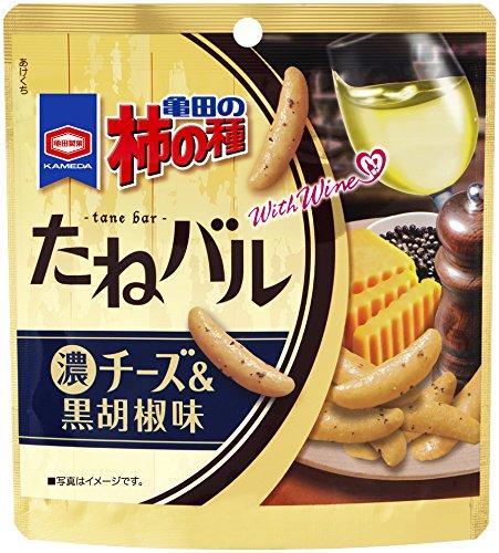 亀田製菓 たねバル黒胡椒チーズ味 50g×12袋