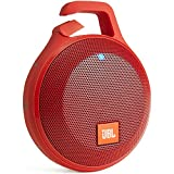 JBL CLIP+ Bluetoothスピーカー IPX5防水機能 ポータブル/ワイヤレス対応 レッド JBLCLIPPLUSRED 【国内正規品】