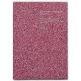 ラ・アプス 手帳 2020年 B6 マンスリー マットグリッター ピンク AG-4714 (2019年 11月始まり)