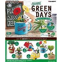 スヌーピー GREEN DAYS BOX商品 1BOX=6個入り、全6種類