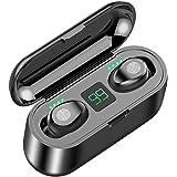 Jollyfit Bluetooth Wireless Earbuds Mini Wireless Headphones in-Ear TWS Wireless Earphones Auto-Pair with Built-in Mic Headse