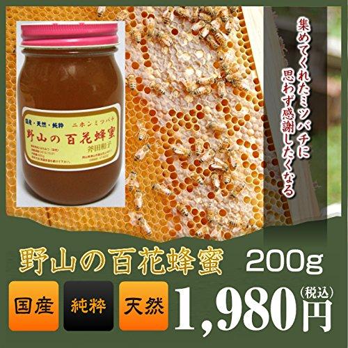 野山の百花蜂蜜・はちみつ・ハチミツ