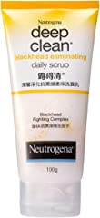 Neutrogena Deep Clean Black Head Eliminating Daily Scrub 100g