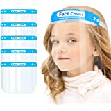 Face Protective Shield Mask for Kids, Anti-Fog Full Face Cover with Clear Film