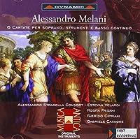 メラーニ:ソプラノのための6つの歌(フリサーニ/ヴェラルディ)