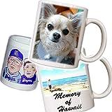 オーダーメイド オリジナルマグカップ あなたの写真やイラストをマグカップにしてお届けします! オリジナルマグカップ 記念日 贈答品 せともの 瀬戸物