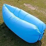 Air Balloon Sofa エアーバルーンソファー TYPE-A リップストップナイロン製3カラー アウトドア エアソファ (ブルー)