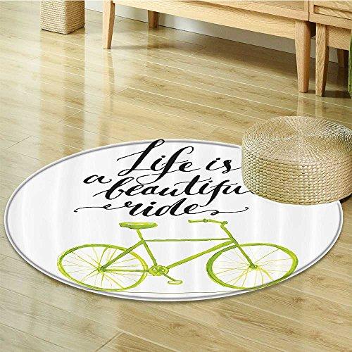 自転車装飾円カーペットby nalahomeqq Hand ...