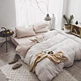 Cotton Four Piece Set Pure Cotton Solid Color Color Bed Sheet Quilt Cover Quilt Cover