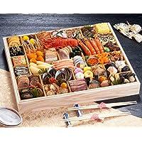 京都 しょうざん おせち料理 2019 超特大 プレミアム 一段重 春華 50品 盛り付け済み 冷凍おせち お届け日:12月30日