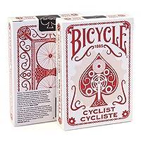 自転車Cyclist Playing Cards (Red) Edition Poker Collectibleデッキ