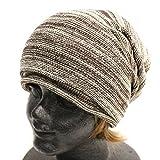 ベージュ×ブラウン Sサイズ (リッチマスター)RichMaster オーガニックコットン 抗がん剤 医療用帽子 大きいサイズ あったかい ニット帽 ニットキャップ ワッチキャップ キャスケット 男女兼用 レディース メンズ 大きい コットン ニットワッチ帽 ニット帽子 無地 ビーニー帽子 つば付き 小顔 ゆったり 防寒 おしゃれ かわいい 人気 白 黒 bp-0026L-32-2