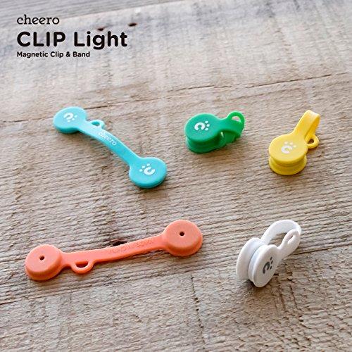 cheero CLIP Light (5色セット) 万能 クリップ CHE-318-SET