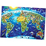 BAOBLADE 1000 Piece Jigsaw Puzzle for Unisex Adults - Landscape Scenery - Earth