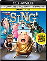Sing (4K Ultra HD + Blu-ray + Digital HD)