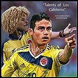 「コロンビアの至宝」カルロス・バルデラマ & ハメス・ロドリゲス コロンビア代表 海外サッカーグラフィックアートパネル 木製 壁掛け インテリア ポスター