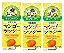 キッコーマン 豆乳飲料 マンゴーラッシー 200ml×3本