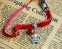 【ノーブランド品】首輪 子猫 子犬 王冠&鈴のペンダント付き レッド