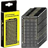 KEYESTUDIO Proto Shield PCB Board for Arduino Mega 2560 R3, Double Sided Circuit Proto Board Solderable for Arduino Mega 2560