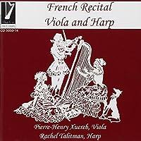 French Recital for Viola & Harp by TALITMANN RACHEL