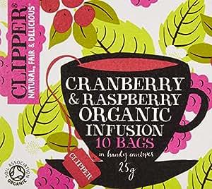 クリッパー オーガニックフルーツインフュージョン クランベリー&ラズベリー(個装10P)
