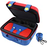 Travel Carrying Storage Case Compatible with Nintendo Switch System Protective Hard Shell Cute Deluxe Bag for Console Control