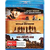 How the West Was Won/The Searchers/The Wild Bunch (Blu-ray Triple) (3 Discs)