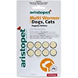Aristopet AB610 Multi Wormer 8 Tablets for Dogs and Cats, 8 Count