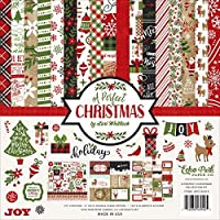Echo Park Paper Company a Perfect Christmas Collection Kit [並行輸入品]