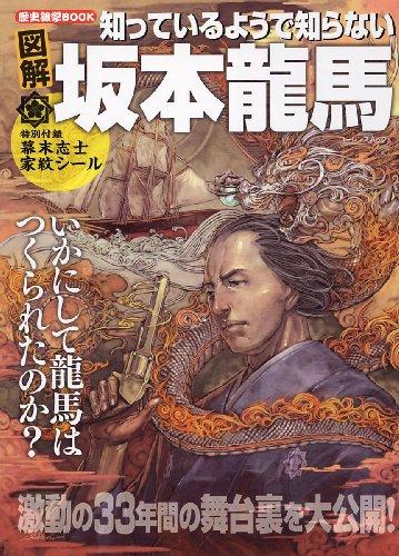 歴史雑学BOOK 図解 知っているようで知らない坂本龍馬 (ローレンスムック 歴史雑学BOOK)