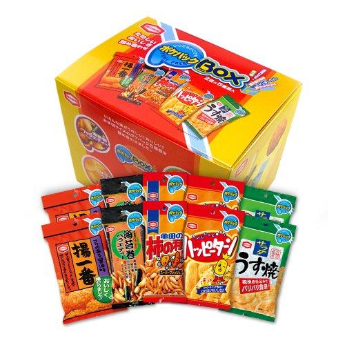 【Amazon.co.jp限定】亀田製菓 ポケパックBOX 5種類×2袋入