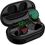 Wireless Earbuds Bluetooth 5.0 with Charging Case IPX8 Waterproof TWS Stereo Noise Cancelling Headphones in Ear Built in Mic