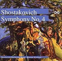 Complete Symphonies 8 & No 4 by SHOSTAKOVICH (2008-01-22)