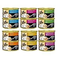 アソート シーバ デリ 缶 85g 6種12缶 キャットフード シーバ