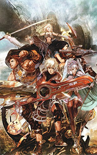 35.5 X 23.5インチFramed Xenoblade ChroniclesゲームゲームLar...