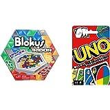 ブロックス トライゴン R1985 & ウノ UNO カードゲーム B7696【セット買い】