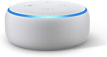 Echo Dot (3rd Gen) – Smart speaker with Alexa - Sandstone Fabric